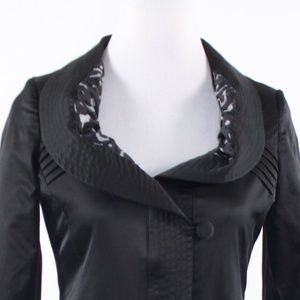 Venezia-Milano Jackets & Coats - Venezia-Milano Black long sleeve jacket XS